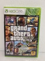 Grand Theft Auto V/5 (Microsoft Xbox 360, 2013) Brand New/Factory Sealed
