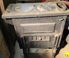 cast iron wood burning stove (2) Burners