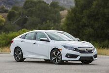 Honda Civic 10th 2016-2019 Sedan Slimline V2 Window Visors/Weathershields Set 4P
