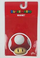 Nintendo Super Mario Bros. Red Mushroom Magnet New