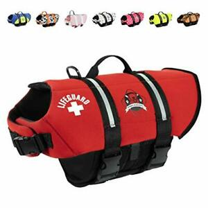 Paws Aboard Dog Life Jacket Neoprene Dog Life Vest for Swimming and Boating -...