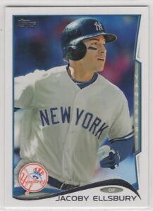 2014 Topps Baseball New York Yankees Team Set Series 1 2 and Update