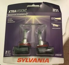 SYLVANIA H11 XtraVision Halogen Bulb, Pack of 2, Brand New In Open Package!