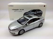 1:18 GAC FIAT viaggio Silver Diecast Metal Car
