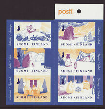 Finland 2019 MNH - Advice of Moomins to the good life - booklet with 6 stamps