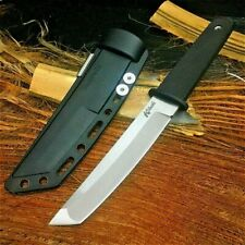 Tanto Knife Mini Katana Fixed Blade Hunting Wild Tactical Combat Military Sheath