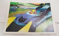 Vintage 1978 Batman & Robin Batmobile Pin up Poster DC Comics (Pre-Owned)