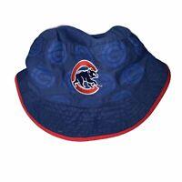 Chicago Cubs MLB Baseball Floppy Bucket Hat Cap SGA Rum Chata Blue & Red NEW