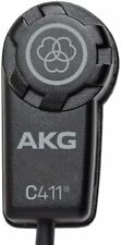 Akg Pro Audio Vibration Pickup Condenser Microphone C411L Brand New