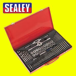Sealey Tools AK3076 Metric Tap Wrench & Split Die Set Coarse & Fine 76 Piece