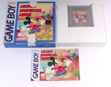 Jeu: Mickey 's Dangerous Chase pour Game Boy + Color + Advance OVP + Instructions
