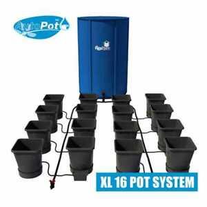 AutoPot XL 16 Pot System with 225 Litre FlexiTank, 25 Litre Pots & 16mm Pipe.