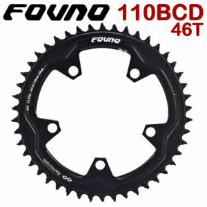 DECKAS Chainring Narrow Wide 110BCD Round 38 40 42 46 48 50 52 54 58T Chain Ring