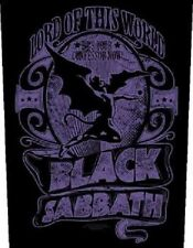BLACK SABBATH lord of this world 2015 - GIANT BACK PATCH - 36 x 29 cms OZZY
