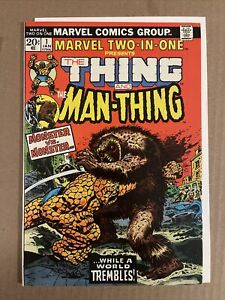 Marvel Two-In-One Presents the Thing And the Man-Thing #1. 1976 Bronze Age Comic
