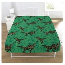 Jurassic World Predators Raptors Single Fitted Sheet Matches Bedding