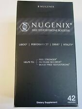 Nugenix Free Testosterone Booster  - 42 capsules exp 2019 NEW