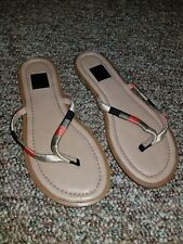 ELLA MOSS Tan Leather Designer Sandals 6 M