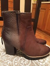 TAMARIS LEATHER FASHION ANKLE BOOTS U.S SZ 5.5 EURO SIZE 36 NEW