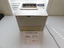 HP Laserjet 4100 w/ Toner 64MB Network Laser Printer - Works - Read