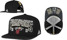NBA Miami Heat Adidas 2013 Champions Back to Back Locker Room Cap Hat