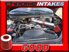 RED NEW 99 00 01 02 03 04 JEEP GRAND CHEROKEE/LAREDO 4.7L/HO V8 AIR INTAKE KIT