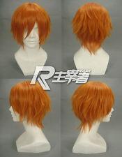 Black Butler Drocell Caines Macross Frontier Moniker Pumpkin Orange Cosplay Wig