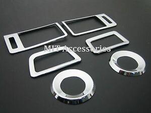 MIT HONDA ACCORD 2013-up interior cover chrome rim dash trim AC vent panel