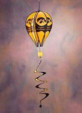 "Iowa Hawkeyes 17"" x 12"" Diameter Air Balloon Style Wind Spinner BSI 69024"