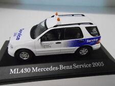 Mercedes Benz ML 430 Service 24H de 2005, échelle 1/43, Voitures de légende