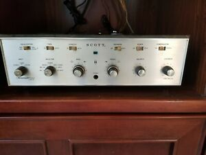 Scott 222-D Tube Stereo Amplifier in working condition