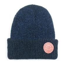New With Tag!! 100% Authentic Brixton Men's Oath Knit Beanie In Deep Cobalt