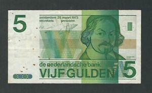 Netherlands - 1973, 5 Gulden