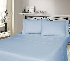 Completi di lenzuola o copripiumini blu federa in flanella