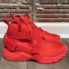 Nike Air Huarache City Speed Red Womens Size 5.5