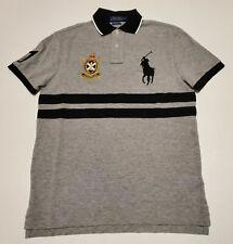 Men Polo Ralph Lauren BIG PONY Mesh Polo Shirt Fine Quality CUSTOM SLIM - M XL
