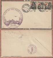 US 1931 FIRST FLIGHT FLOWN COVER AM 20 DALLAS TEXAS TO NEWARK NJ