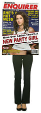 Rasta ImpostA Magazine Cover National Enquirer Party Girl Adlt Costume SHES A ME
