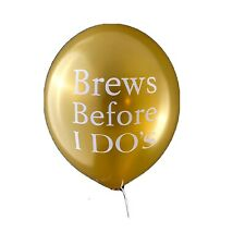 bridal shower balloons Brews Before I Dos