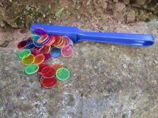 Magnetstab mit  50 Chips Magnetspiel Spielzeug °120106