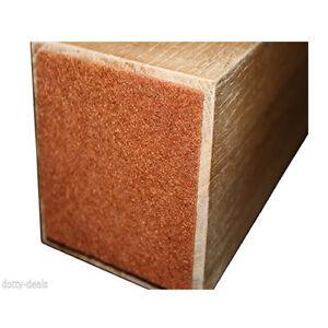 Felt Pads for Furniture Legs | Floor Protectors 70mm Square Self Adhesive