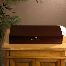 New listing Brand New Flatware Chest in Dark Walnut Color By Wallace3.12'' H x 19'' W x 10.