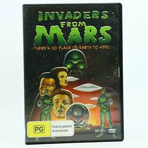 Invaders From Mars Helena Carter Arthur Franz Jimmy Hunt DVD GC