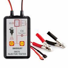EM276 Automotive Fuel Injector Tester 12V Car Scan Stuck Leaking Diagnostic Tool