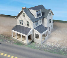 Z Scale Building - House - Pre-Cut Card Stock PAPER Model Kit WHZ1