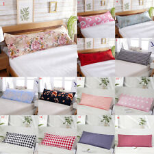 Soft Printing Pillow Case Bedroom Cushion Cover Multicolor Long Home Pillowcase