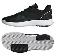 Adidas Men Court Smash Tennis Shoes Running Black Training Sneakers Shoe F36717