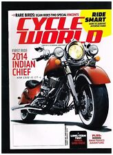 CYCLE WORLD OCTOBER 2013 SEE CONTENTS PAGE IN SECOND PHOTO