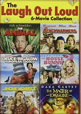 Laugh Out Loud DVD 6 Movie House Bunny Animal Joe Dirt Gigolo Disguise Bench...