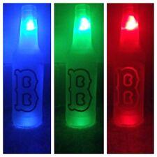 Boston Red Sox LED Bottle Light, Pub Bar Neon Man Cave Sign MLB